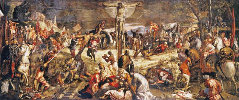 crucifixion tintoreto